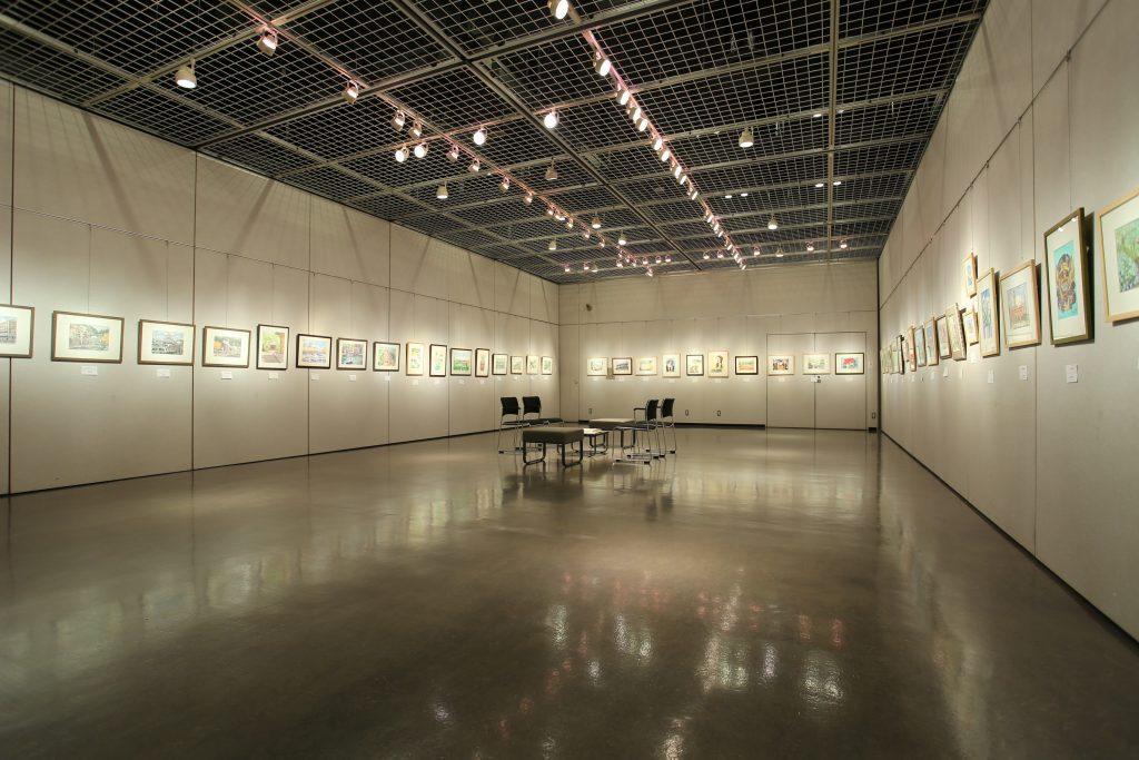 ギャラリー入り口からの全景写真